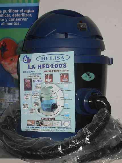Aspiradoras de acaros humedo seco con filtro de agua for Aspiradoras para jardin