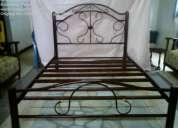 literas , camas metalicas (decoraciones metalicas)