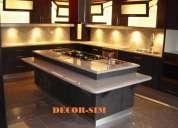 Muebles de cocina modernos y hermosos