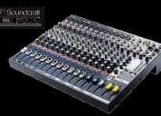 vendo consola soundcraft epm 12