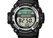 relog casio sgw 300 altimetro barometro termometro