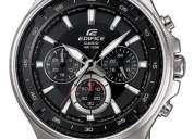 Reloj de hombre casio ef-562d nuevo en caja garantia 1 año (contacto: 081471175)