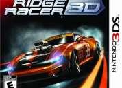 Ridge racer 3d - juego para nintendo 3ds