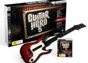 Guitar hero 5 para playstation 3 oferta efectivo  $ 135.00