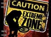 Cuaderno polibook extreme zone