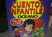 Vendo cuentos clasicos infantiles oceano con audio