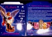 Las 7 velas de los arcangeles aromatizadas y bendecidas
