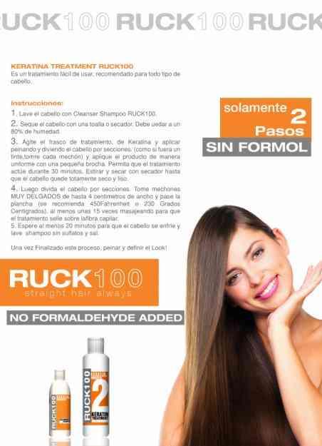 Keratina de alisado narutal sin formol ruck100 quito - Bano de keratina precio ...