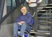 Silla movilizacion discapacitados, escaleras, elevadores