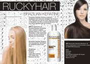 Alisado keratina ruckyhair miami 20 aplicaciones 1 litro