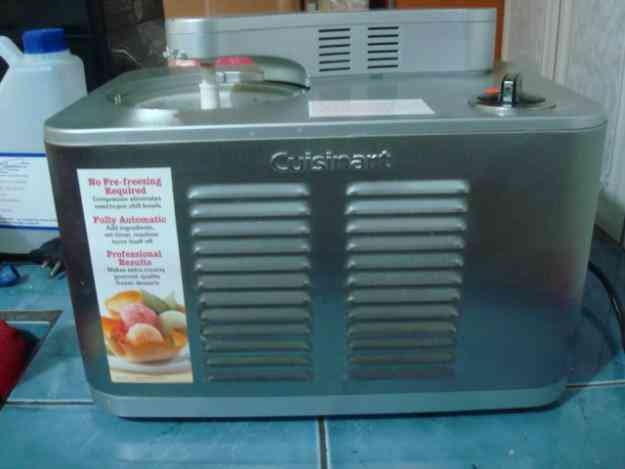 Máquina para preparar helados