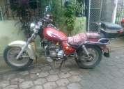 Hermosa moto shineray modelo harley motor 200cc roja excelente estado barata $450