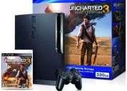 Playstation 3 320 gb!!  encharted 3 original, nueva sellada!!!