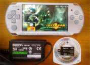 Psp 3004 pirateada con 1 juego original/5 juegos cso/4 aplicaciones/plugins