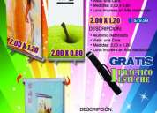 Roll up - banners - publicidad - roll over - gigantografia