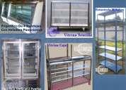 Vendo frigoríficos, vitrinas, estanterías metálicas y metalmecánica en general