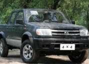 VehÍculos zna 4 x 2 y 4 x 4 turbo diesel cabina doble