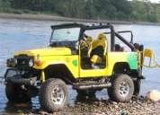 Jeep toyota land cruiser aÑo 1979