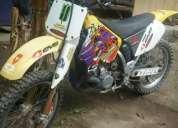 moto  para competencias de cross. vendo. suzuki rm 250 full cross