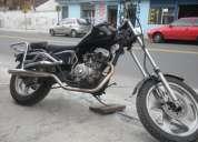 Vendo moto tekno modificada a chopper, se realizan este tipo de trabajos!!