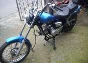 Vendo moto jialing cc90 mini chopper $ 350