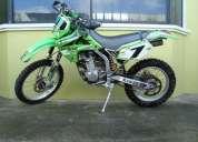 Vendo moto kawasaki klx 300cc de 1999