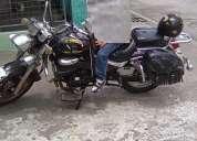Vendo moto tekno-200 año 2010 alarma encendido remoto distancia 30mt