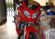 Vendo moto deportiva tipo ninja 200cc