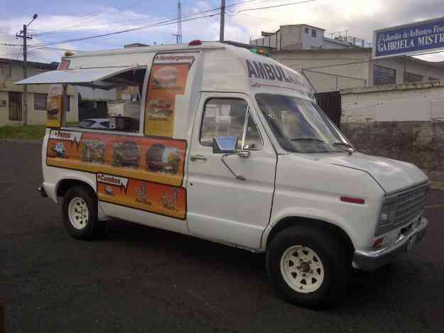 La ambulancia del Sabor      venta por viaje