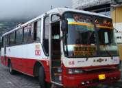 Vendo bus chevrolet isuzu ftr 2001 carrocería herrera $24000 negociables pzs-703
