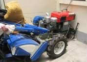 Motocultor 16hp con rotavator, asiento, cosechadora nuevo