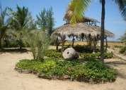 Casa  y terreno  al pie de la playa en ecuador (cbececulpm13629)