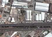 Terreno de venta en calderÓn en la panamericana norte km 12.5.