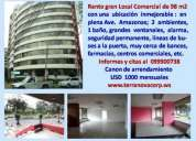 Rento gran local comercial en plena ave amazonas