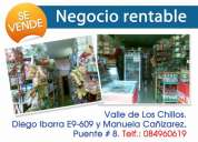 Mini mercado rentable de venta