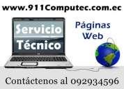 reparacion de computadoras / diseño de páginas web y  mas / trabajo garantizado