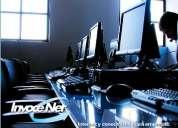 Servicio de internet banda ancha para cybers y empresas