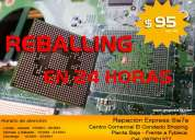 Reparación de mainborads - reballing - centro comercial el condado shopping
