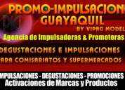 Impulsadoras y promotoras en guayaquil - agencia promoimpulsaciones