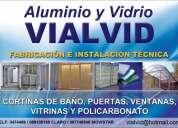 Aluminio y vidrio vialvid
