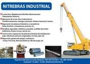 Hidraulicos reparacion general ... cromo duro industrial