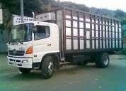 Camiones y furgones para transporte de carga y mudanza en quito y todo el pais