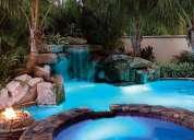 Construimos piscinas 100% en hormigon y con acabados increibles