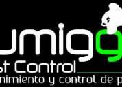 Fumigacion, control de plagas(cucarachas, ratones, termitas, garrapatas etc..) fumigga