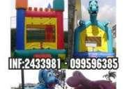 Animaciones infantiles salta salta carretss piqueos 099596385