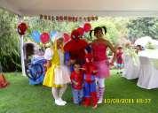 Organizamos la fiesta infantil de su hij@ personajes disney juegos recreacion y mas