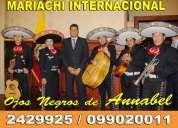 Mariachi ojos negros ( la elegancia de la musica mexicana) 2429925 / 099020011
