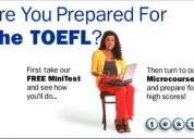 Toefl!! preparacion cursos!!