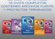 Cursos y tutoriales diseÑo web / as.3 / animacion / photoshop
