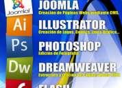 Cursos de joomla, diseño gráfico